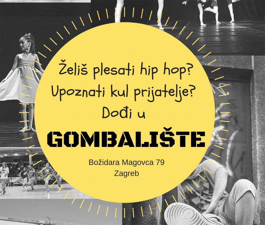 Želiš plesati hip hop?