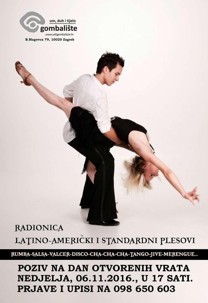 NOVO: Radionica društvenih plesova u studenom